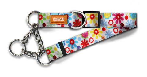 Spring Pattern Martingale Collars