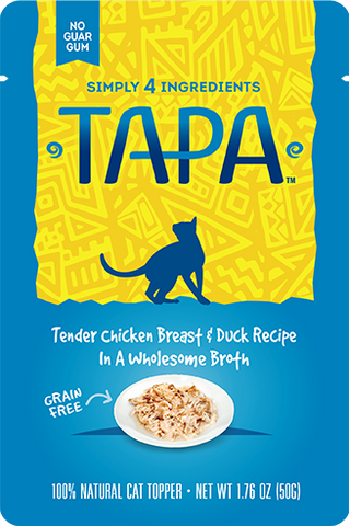 TAPA Cat Treats & Food Topper