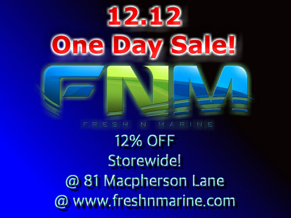 12.12 Sales is ON for 1 Day!