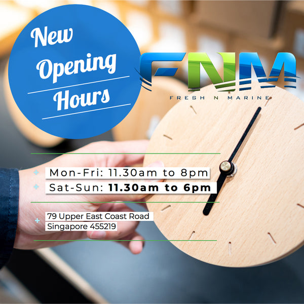 Change in Opening Hours on Weekends @ 79 Upper East Coast Road!