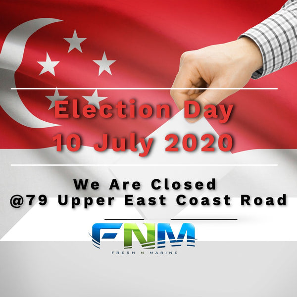 Our Retail Outlet @ 79 Upper East Coast Rd will be Closed on Election Day 10 July 2020