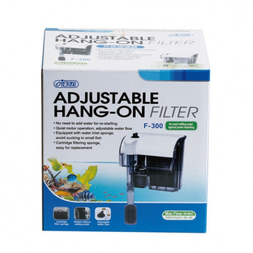 ISTA Adjustable Hang-On Filter 100L/H