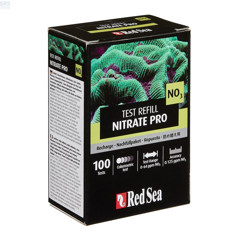 Red Sea Nitrate Pro Test Reagent Refill Kit