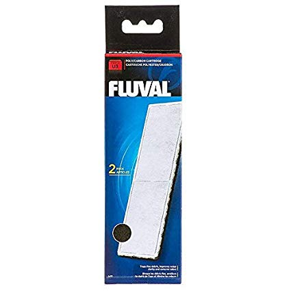 Fluval U3 Underwater Poly Carbon Filter Cartridge (2 in Pack)