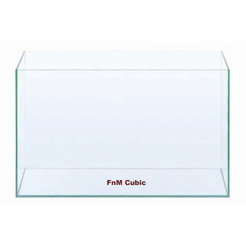 FnM Cubic 120cm x 45cm x 45cm 12mm Normal Asahi Glass (Braceless)