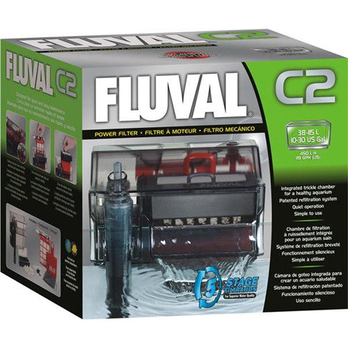 Fluval C2 Hang On Power Filter (38L-115L)