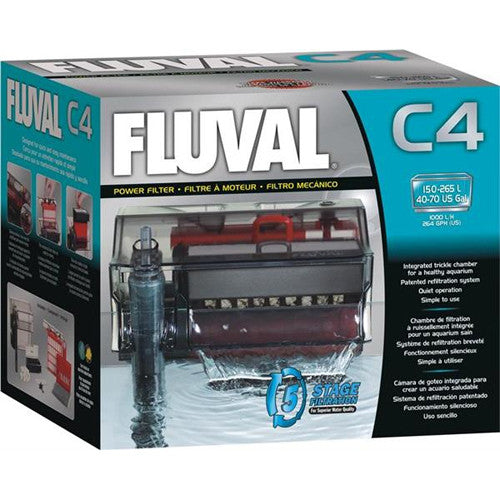 Fluval C4 Hang On Power Filter (150L-265L)
