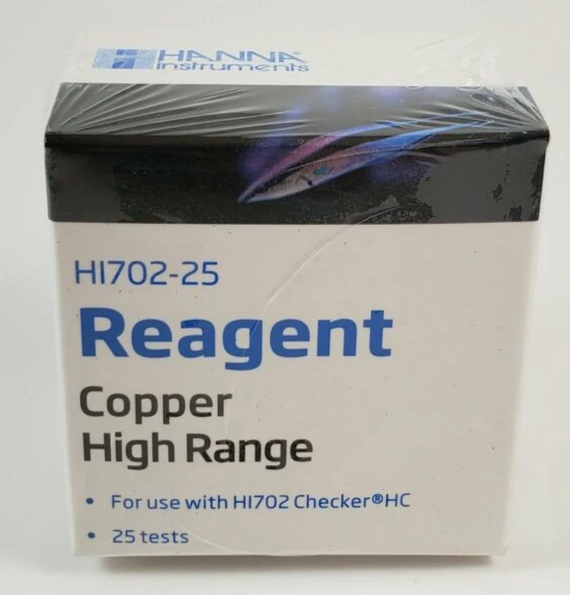 Hanna Instrument  Copper High Range Checker® Reagents (25 Tests)