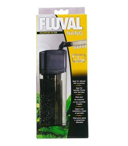 fluval nano aquarium filter fresh n marine