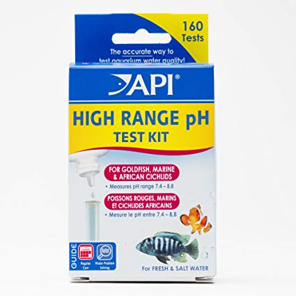 API High Range pH Test Kit for freshwater & saltwater