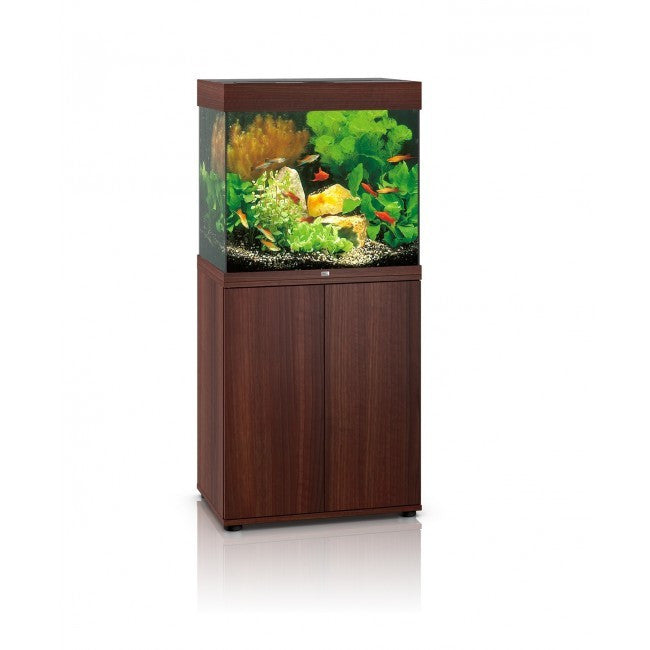 juwel lido 120 litre aquarium dark wood fresh n marine. Black Bedroom Furniture Sets. Home Design Ideas