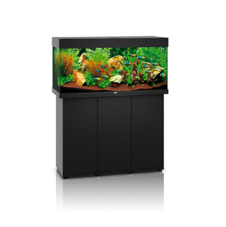 juwel rio 180 litre aquarium black fresh n marine. Black Bedroom Furniture Sets. Home Design Ideas