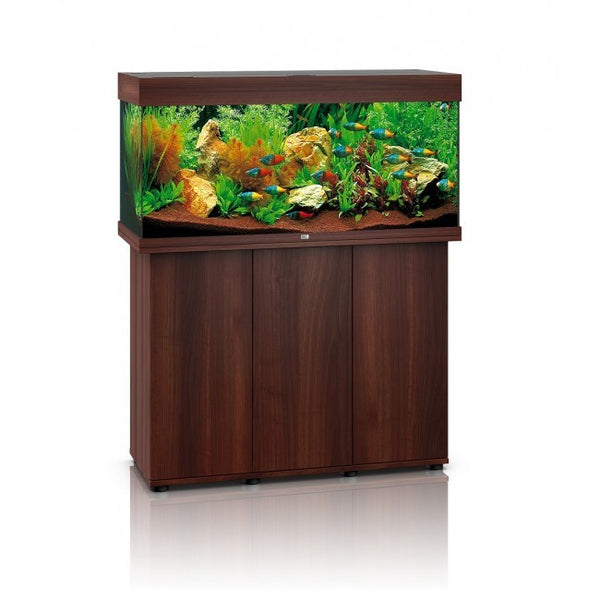 juwel rio 180 litre aquarium dark wood fresh n marine. Black Bedroom Furniture Sets. Home Design Ideas