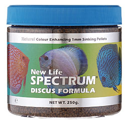 NEW LIFE SPECTRUM Discus Formula 1mm sinking pellets 125g