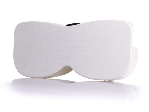 White 3D Eyeglass Case