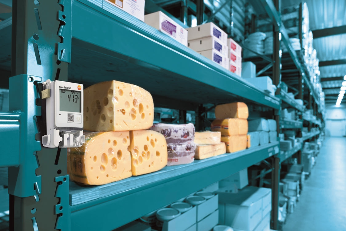 Testo's solutions for food storage monitoring