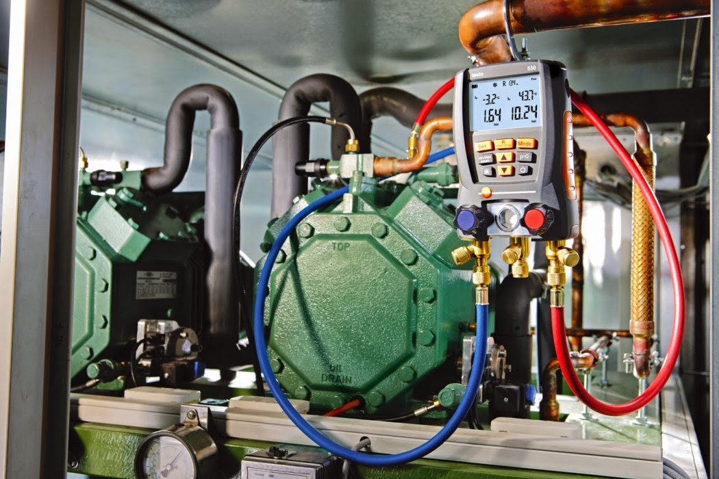 Testo's 550 Digital Manifold: Streamlining Refrigerant Hose Use and More