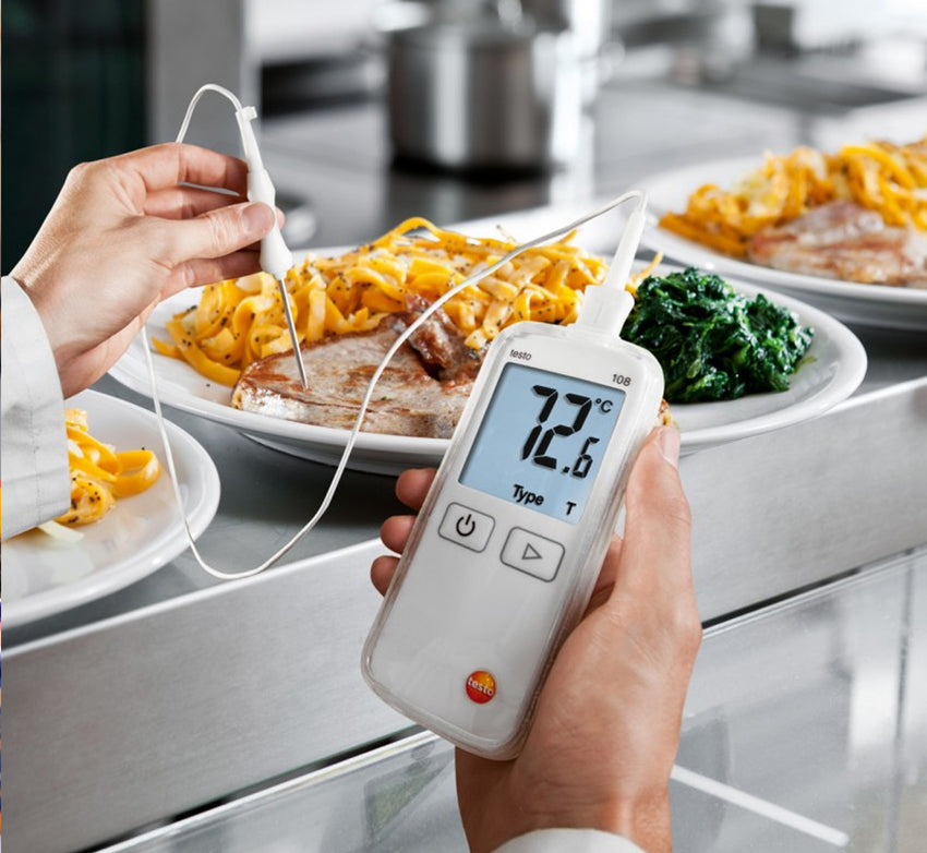 Digital Food Thermometer, Testo 108