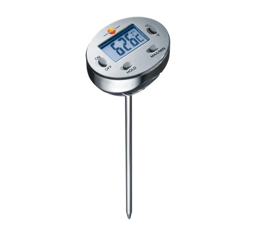 Waterproof Mini Probe Food Thermometer, Testo 1113