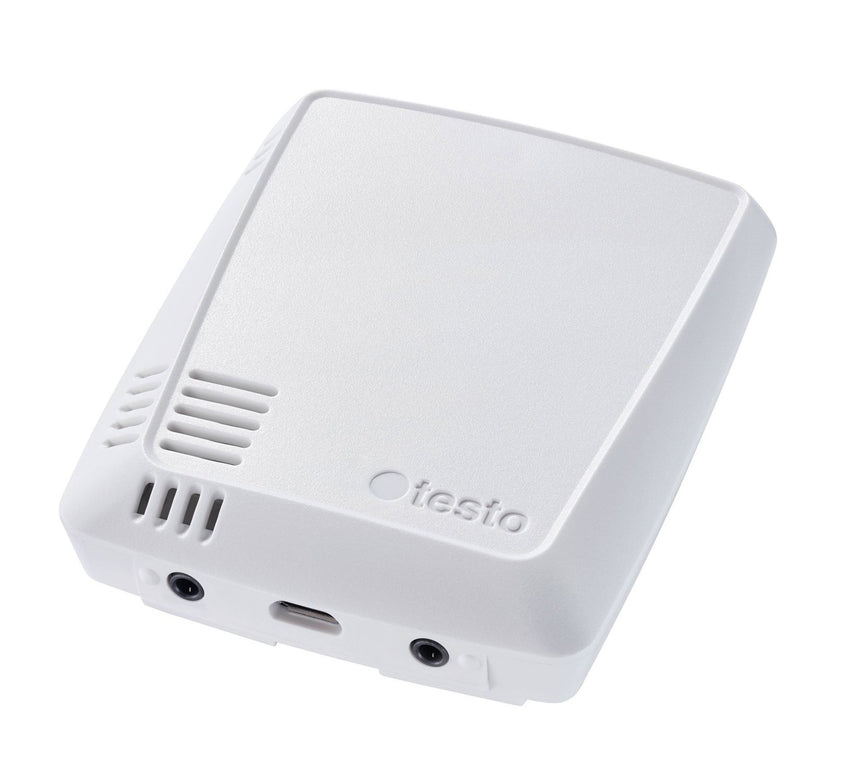WiFi Data Logger for Temperature & Humidity and 2 probe connections, Testo 160 THE