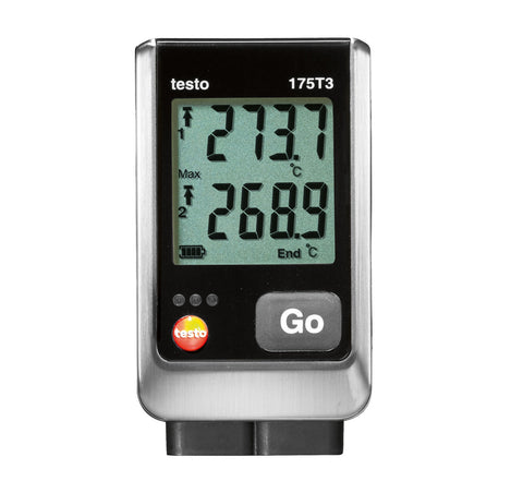 Testo 175-T3 Dual Thermocouple Data Logger