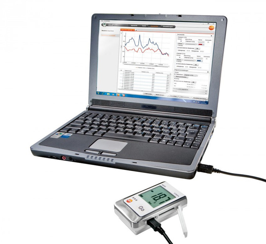 Temperature Data Logger, Testo 175-T1