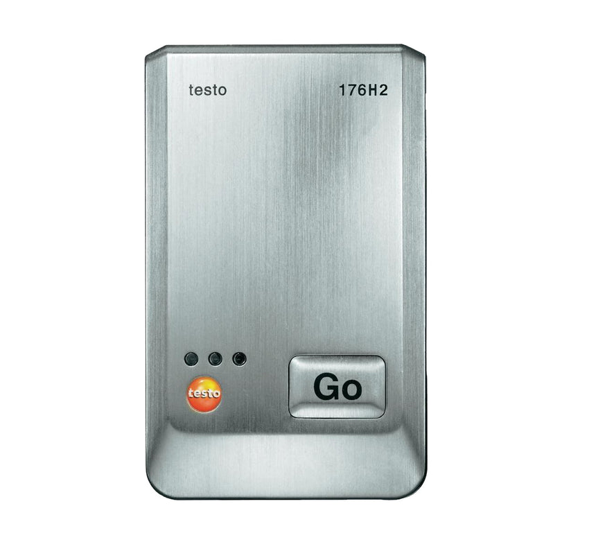 Four-channel Data Logger, Humidity and Temperature, Testo 176-H2