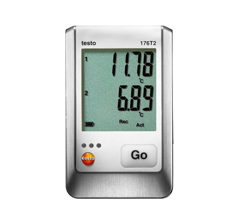 Testo 176-T2 PT100 Two Channel Data Logger