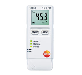 Transport Data Logger, Temperature and Humidity, Testo 184-H1