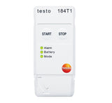 Transport Data Logger, Temperature Start/Stop, Testo 184-T1