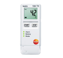 Testo 184-T2 USB Temperature Logger with Start/Stop Function