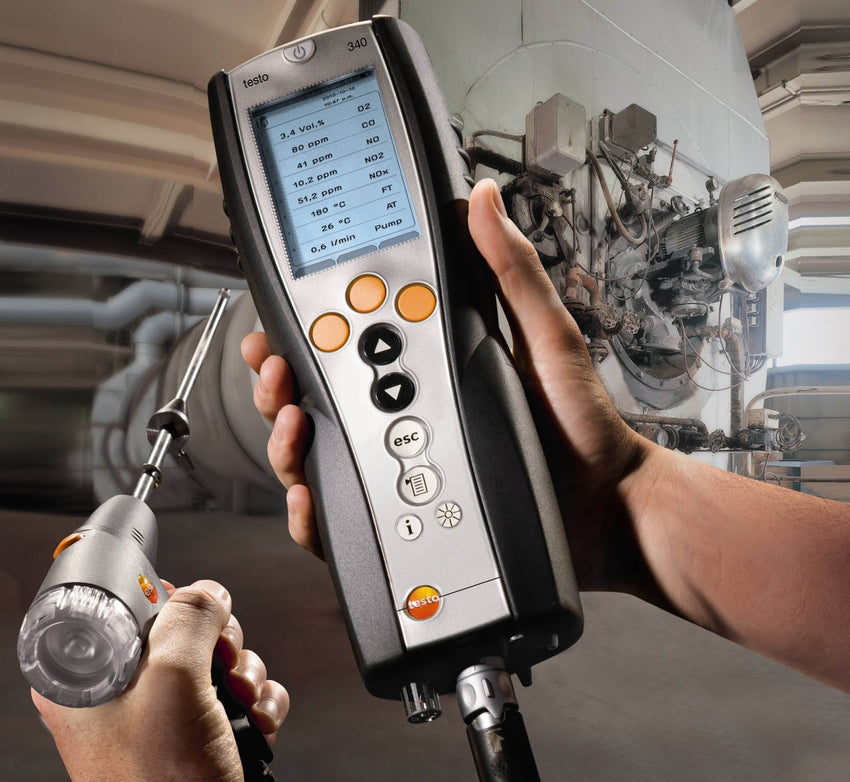 Industrial Gas Combustion Analyser, Testo 340