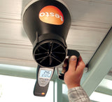 Testo 417 Vane Anemometer with built-in 100mm vane probe
