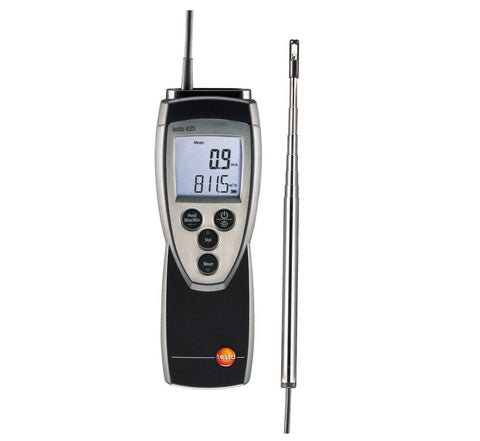 Testo 425 Thermal Anemometer with Flow Probe