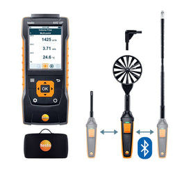Delta P Air Flow ComboKit 2 with Bluetooth®, Testo 440
