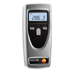 Testo 465 Non-Contact Optical RPM Instrument (Tachometer)