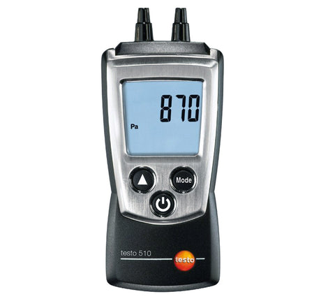 Testo Pocketline 510 Differential Pressure Meter Set