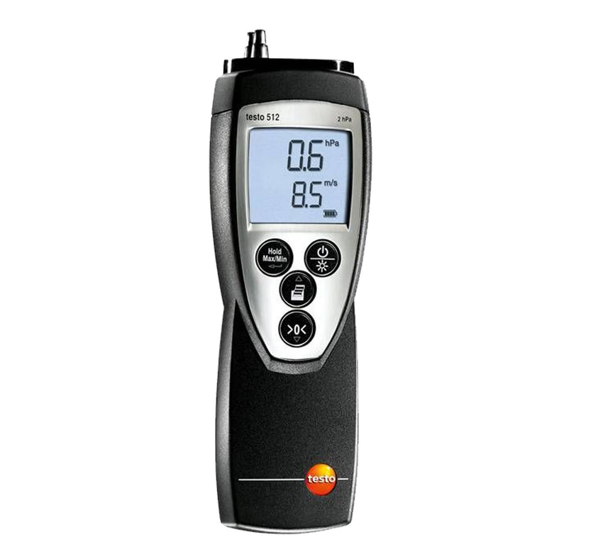 Testo 512 - Differential pressure meter for 0…20 hPa