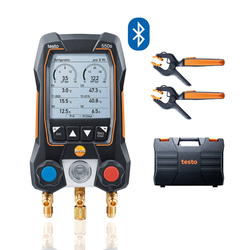 Smart Digital Manifold with wireless probes, Testo 550s Smart Kit
