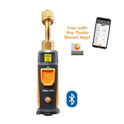 App-controlled wireless vacuum probe, Testo 552i
