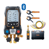 Smart Digital Manifold with hoses, wireless vacuum & temp probes, Testo 557s Kit 2