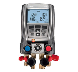 Testo 570-2 Digital Manifold Set & Vacuum Gauge