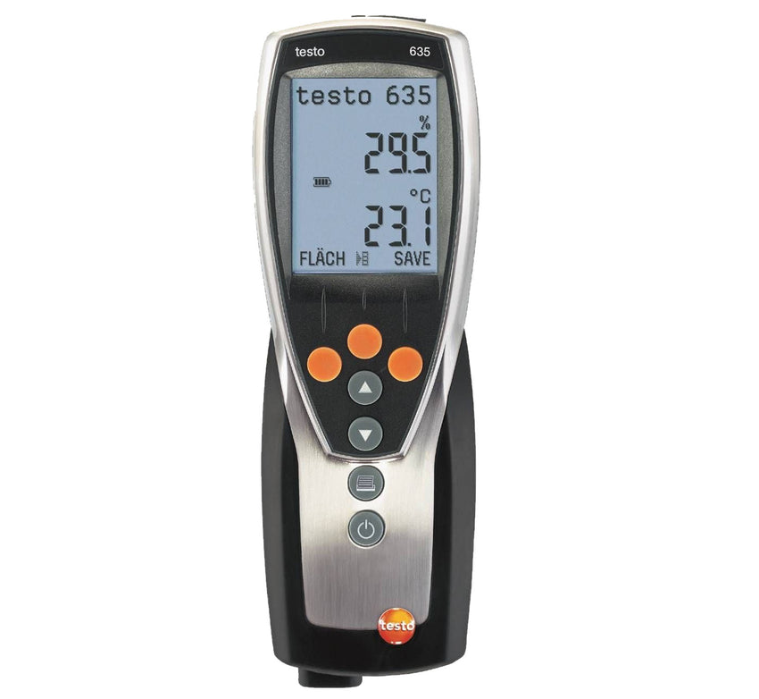 Temperature and Humidity Measuring Instrument, Testo 635-1