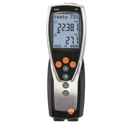 Testo 735-1 Three Channel Temperature Measuring Instrument