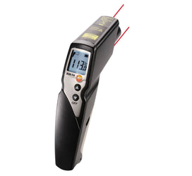 Infrared Thermometer with 2-Point Laser, 30:1 Optics, Testo 830-T4