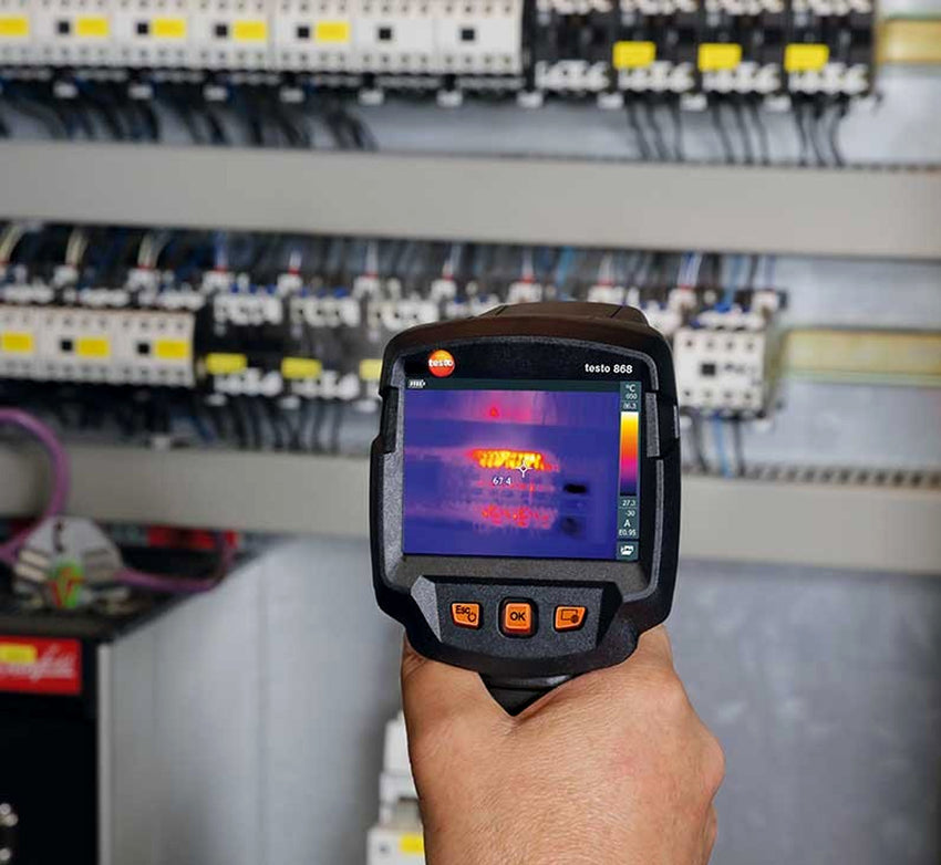 Thermal Imaging Camera with Testo Thermography App, Testo 868