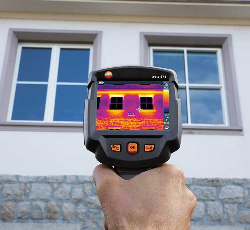 Thermal Imaging Camera with Testo Thermography App, Testo 871