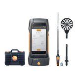 Air flow kit with hot wire probe, Testo 400