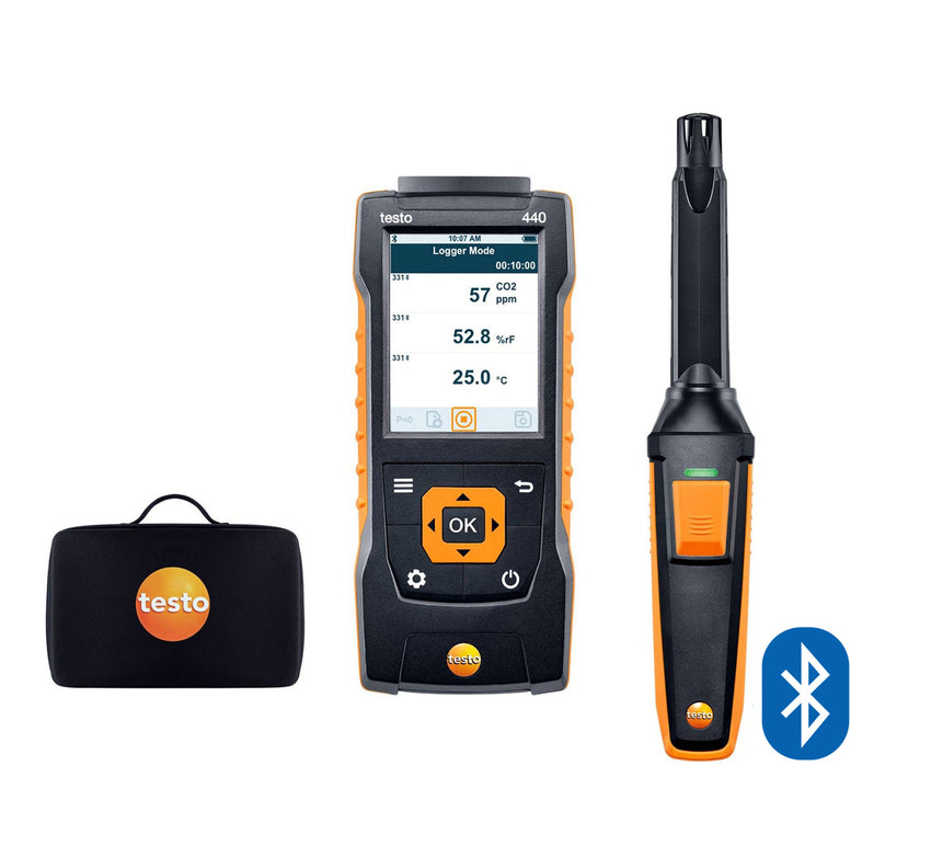 CO₂ Kit with Bluetooth®, Testo 440