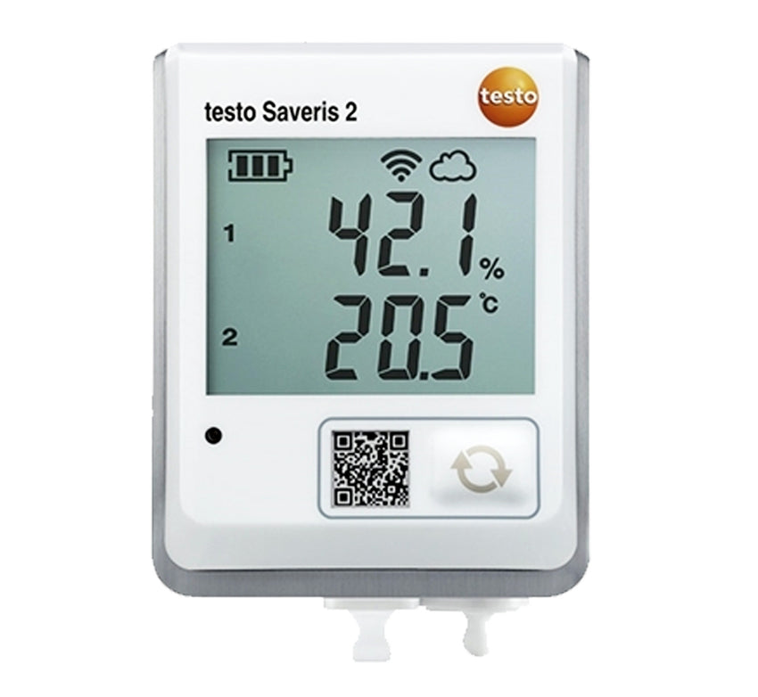 Testo Saveris 2-H2 Wi-Fi Data Logger with connectable temperature and humidity probe